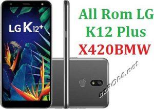 All Rom LG K12 Plus X420BMW Official Firmware LG LM-X420BMW