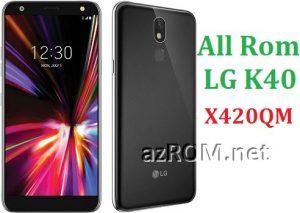All Rom LG K40 X420QM Official Firmware LG LM-X420QM