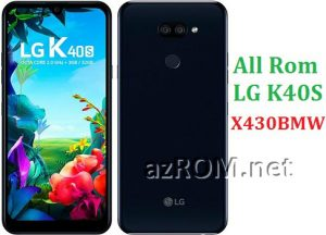 All Rom LG K40S X430BMW Official Firmware LG LM-X430BMW