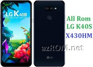 All Rom LG K40S X430HM Official Firmware LG LM-X430HM