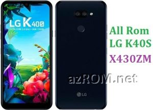 All Rom LG K40S X430ZM Official Firmware LG LM-X430ZM