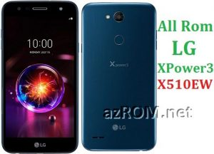 All Rom LG XPower3 X510EW Official Firmware LG LM-X510EW