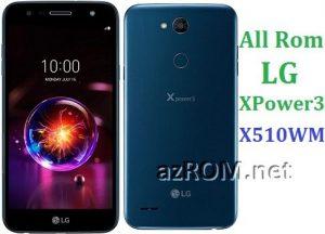 All Rom LG X Power 3 X510WM Official Firmware LG LM-X510WM