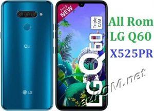 All Rom LG Q60 X525PR Official Firmware LG LM-X525PR