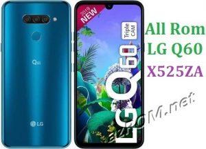 All Rom LG Q60 X525ZA Official Firmware LG LM-X525ZA