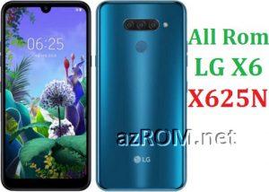 All Rom LG X6 X625N Official Firmware LG LM-X625N