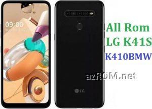 All Rom LG K41S K410BMW Official Firmware LG LM-K410BMW
