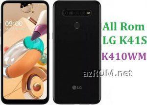 All Rom LG K41S K410WM Official Firmware LG LM-K410WM