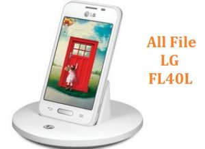 All File & Rom LG 070 Touch (FL40L) Official Firmware New Version