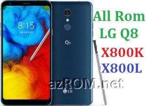 All Rom LG Q8 X800K & X800L Official Firmware LG LGM-X800K & LGM-X800L