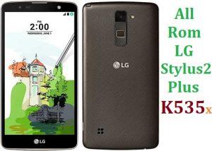 All Rom LG Stylus 2 Plus/Dual (K535...) Official Firmware LG-K535x