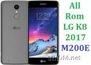 All Rom LG K8 (2017) Dual M200E Official Firmware LG-M200E