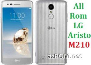 All Rom LG Aristo (M210SV / M210) Official Firmware LG-M210SV