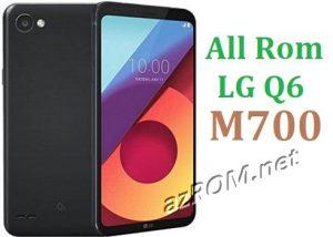 All Rom LG Q6 Alpha M700 Official Firmware LG-M700