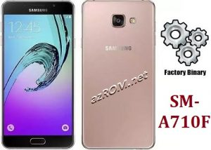 ROM A710F, FIRMWARE A710F, COMBINATION A710F