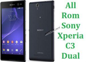 All Rom Sony Xperia C3 Dual FTF Firmware Lock Remove File