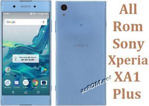All Rom Sony Xperia XA1 Plus FTF Firmware Lock Remove File & Setool Flash File