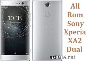 All Rom Sony Xperia XA2 Dual Plus FTF Firmware Lock Remove File & Setool Flash File