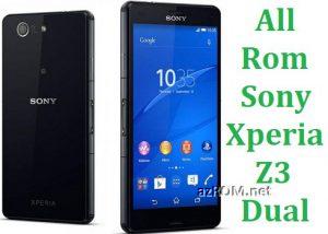 All Rom Sony Xperia Z3 Dual FTF Firmware Lock Remove File & Setool Flash File