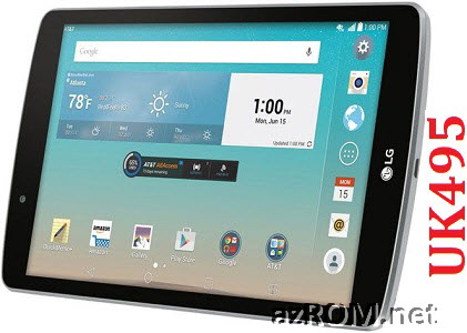 All Rom LG G Pad F™ 8.0'' UK495 Official Firmware LG-UK495
