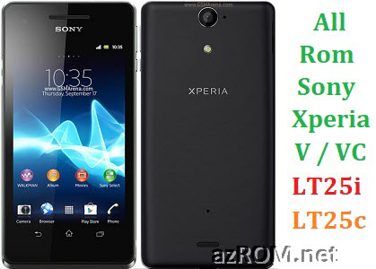 All Rom Sony Xperia V/VC LT25i LT25c FTF Firmware Lock Remove File & Setool Flash File