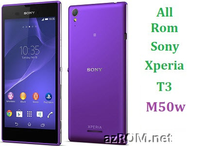 All Rom Sony Xperia T3 M50w FTF Firmware Lock Remove File & Setool Flash File