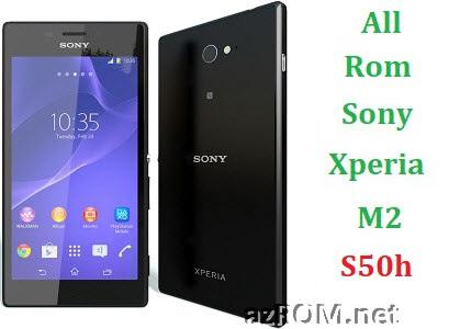 All Rom Sony Xperia M2 S50h FTF Firmware Lock Remove File & Setool Flash File