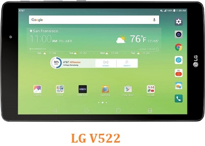 All Rom LG G Pad 3 8.0 FHD V522 Official Firmware LG-V522