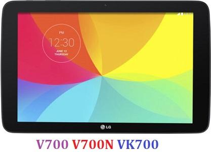 All Rom LG G Pad 10.1 inch V700 V700N VK700 Official Firmware LG-V700 LG-V700N LG-VK700