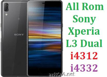 All Rom Sony Xperia L3 Dual i4312 i4332 FTF Firmware Lock Remove File & Setool Flash File