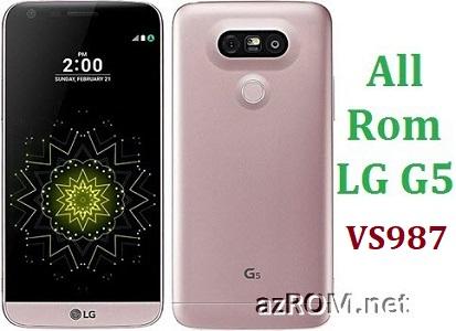 All Rom LG G5 VS987 Official Firmware LG-VS987