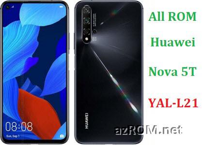 All ROM Huawei Nova 5T YAL-L21 Repair Firmware