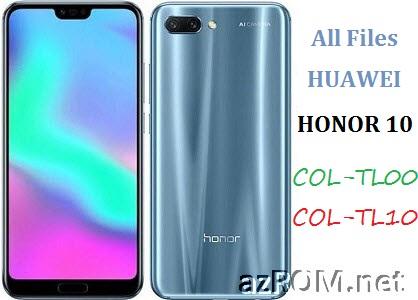 All ROM Huawei Honor10 COL-TL00 COL-TL10 Repair Firmware