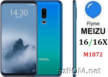 ROM Meizu 16 16X (M1872) Unbrick Repair Firmware