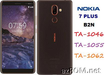 All ROM Nokia 7+ Plus (B2N) TA-1046 TA-1055 TA-1062 Official Firmware