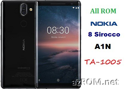 All ROM Nokia 8 Sirocco (A1N) TA-1005 Official Firmware