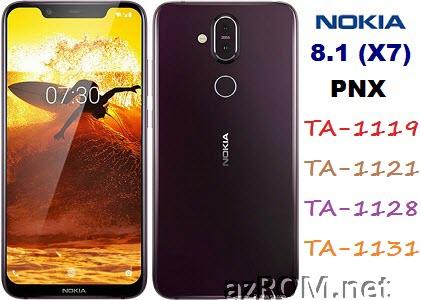 All ROM Nokia 8.1 (Nokia X7) PNX TA-1119 TA-1121 TA-1128 TA-1131 Official Firmware
