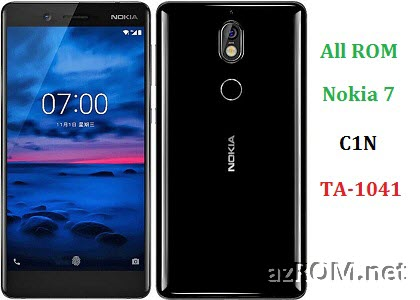 All ROM Nokia 7 C1N TA-1041 Official Firmware