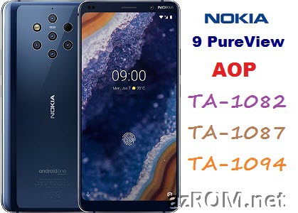 All ROM Nokia 9 PureView (AOP) TA-1082 TA-1087 TA-1094 Official Firmware