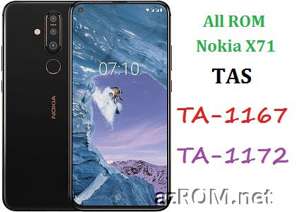 All ROM Nokia X71 (TAS) TA-1167 TA-1172 Official Firmware
