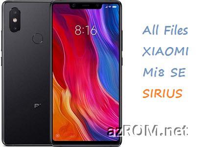 All Rom Xiaomi Mi 8 SE (Sirius) Global Firmware
